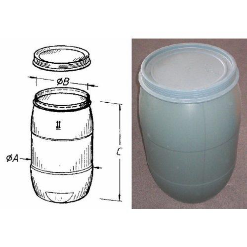 120 L. esővízgyűjtő hordó Pannon Effekt