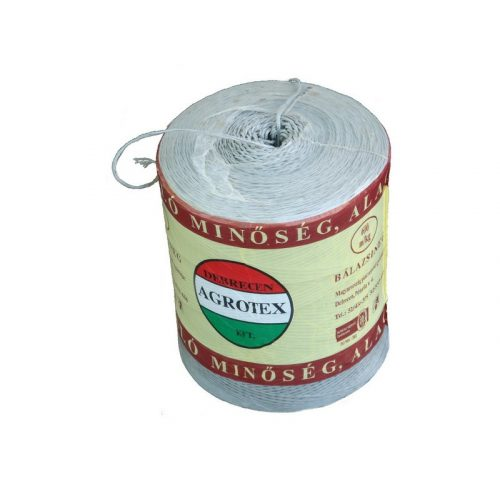 350 m/kg natúr PP zsineg,  Agrotex, 5 kg/tek nem UV. stabil