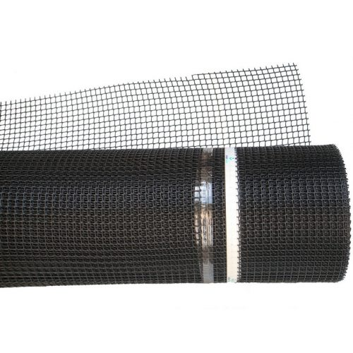 K-100/5, 1mx25m fekete kertirács (5mmx5mm szemméret) CUADRA C-104